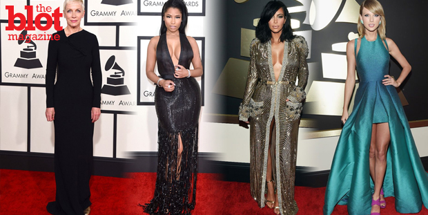 Nicki wowed, Taylor made a misstep, and, just like hubby Kanye, Kim was just too much. Here are Gazelle Paulo's best and worst dressed from the Grammys.