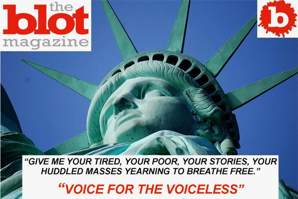 THEBLOT MAGAZINE, THE VOICE FOR THE VOICELESS