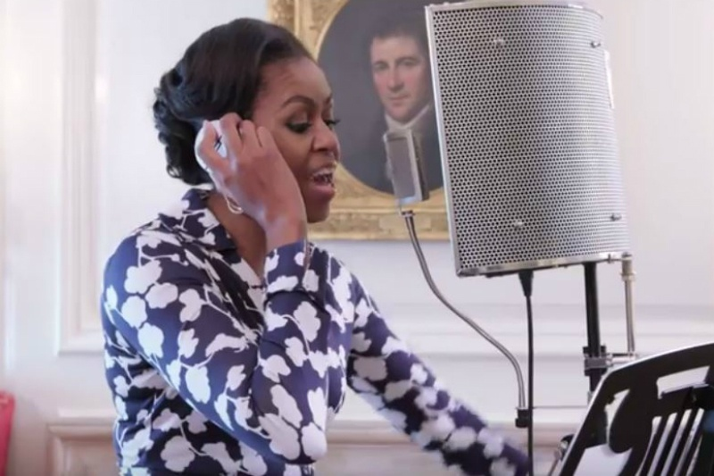 Michelle Obama in Rap Album, vows to become a rap star