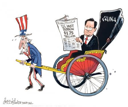 China to US on Shutdown Debt The Clock Is Ticking
