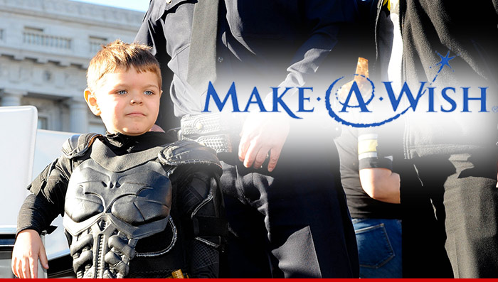 THIS MAKE-A-WISH FOUNDATION KID'S WISH IS AMAZING