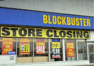 Blockbuster to Shut Down Completely