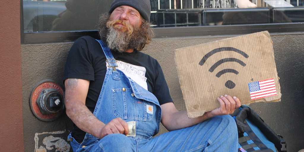 Op-Ed Townhall Columnist Is Super Grossed Out by Lazy Homeless Veterans