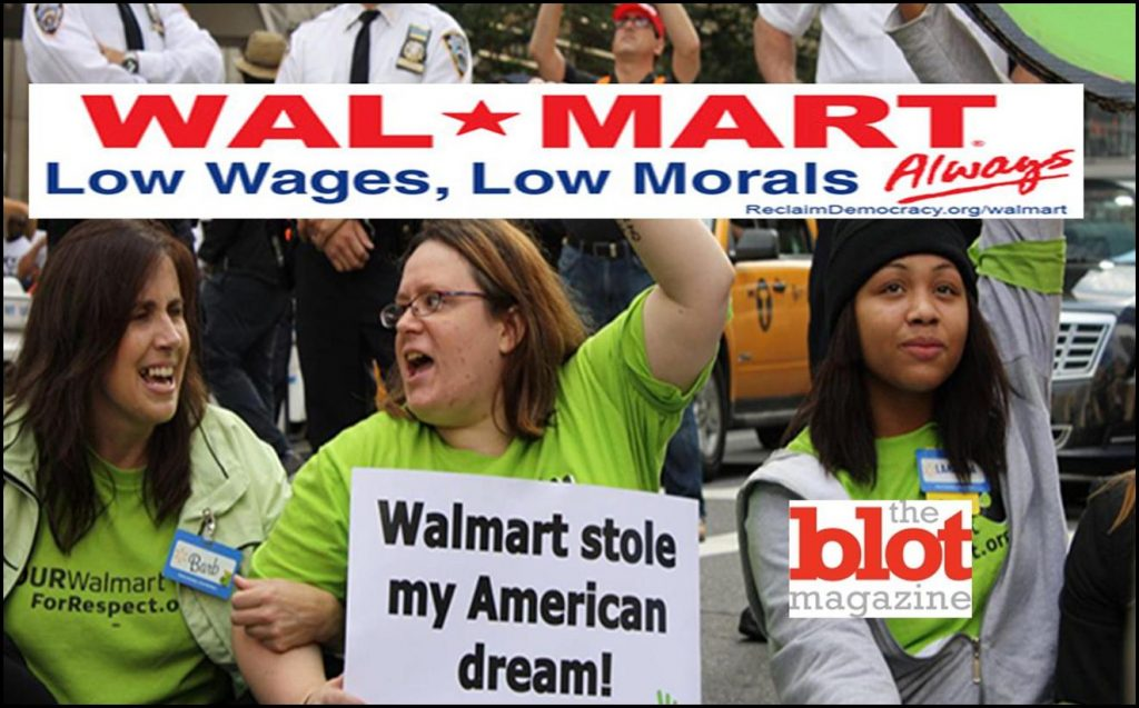 WALMART CLEANS UP ON AISLE WAGES