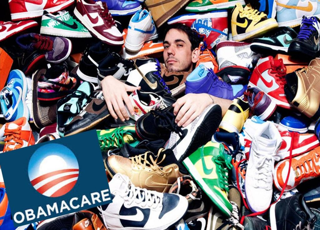 Disaster, Failed Obamacare Reps Enroll Sneakerheads Outside Footlocker