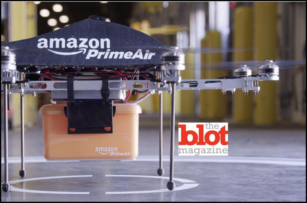 Watch Your Heads, Amazon Helicopter Drones Are Coming