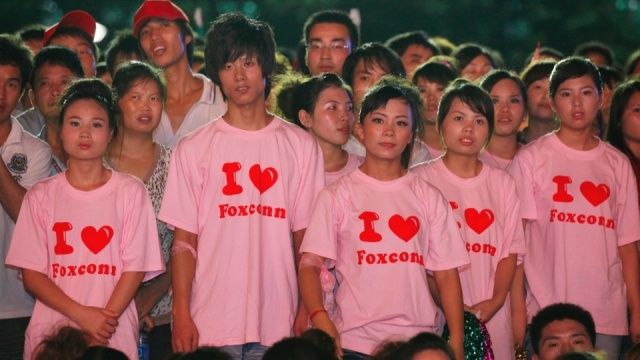 Chinese Factory Workers Like You've Never Seen Them