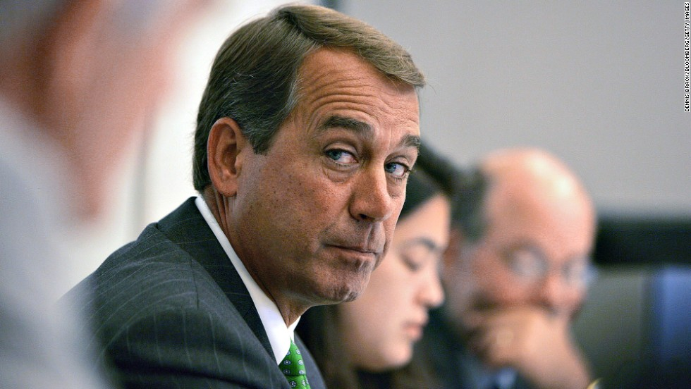 John Boehner Is Totally OK With Y'All Dying Out There in West Virginia