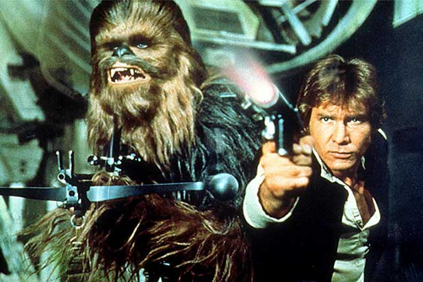 'STAR WARS EPISODE VII' I'D RATHER KISS A WOOKIEE