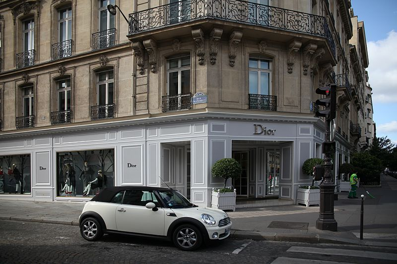 Avenue Montaigne, Paris: The City of Lights is at the core of the world's fashion industry, and Avenue Montaigne, named after a French Renaissance writer, is 'la grande dame' of all things upscale shopping and expensive real estate. Though Champs-Élysées has the more famous name, it's Avenue Montaigne that boasts the best shopping with a Louis Vuitton, Dior, Chanel, and Fendi, among many other brand stores.