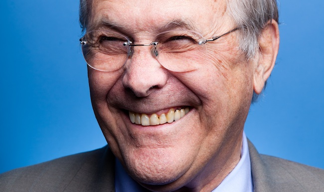 Donald Rumsfeld Wins a Dumbass Award