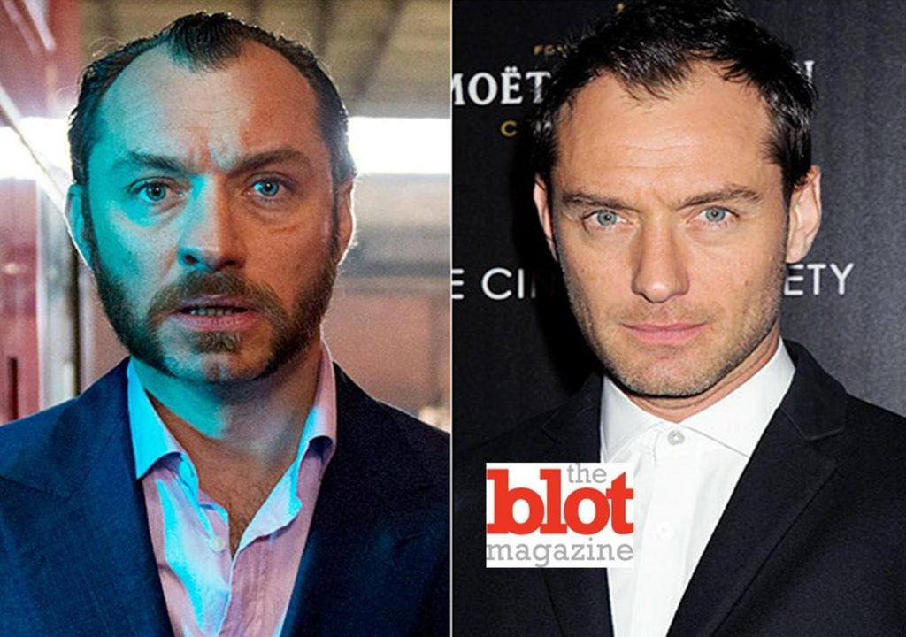 JUDE LAW ABUSED HIS BODY FOR 'DOM HEMINGWAY'