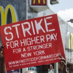 Fast Food Works Walk Off Job to Protest Low Wages