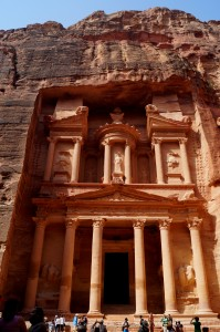 If you can't quite place where Jordan is, this should help. It's home to a 7th Wonder of the World, Petra, which was backdrop to a famous Indiana Jones scene. (photo by Kirsten Koza)