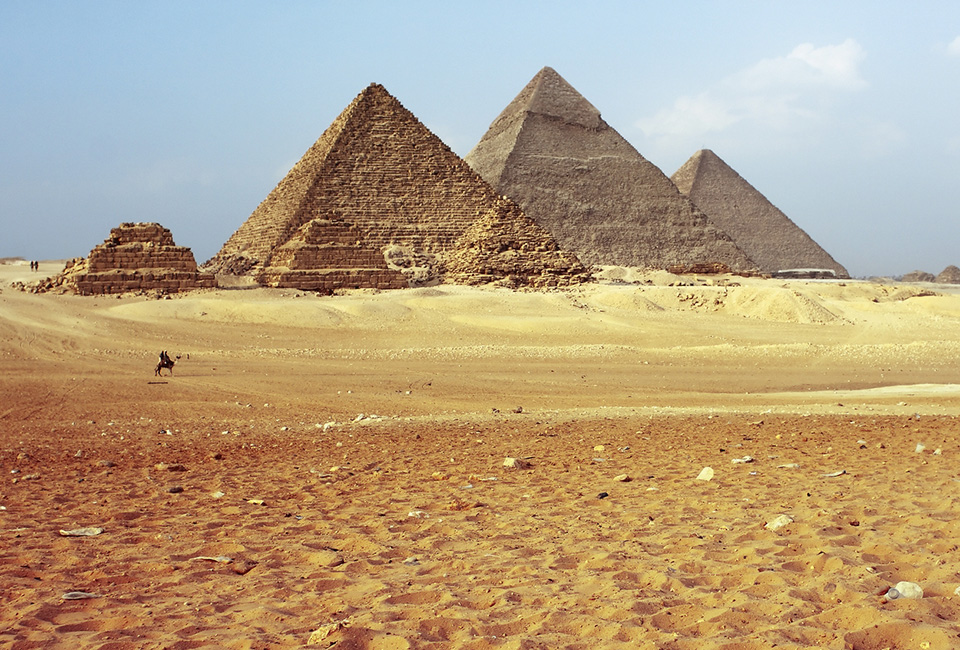 Theories on how the ancient Egyptian pyramids were built