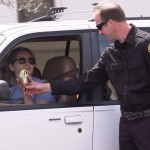 Police Unlawfully Detain Drivers to Give Them Ice Cream