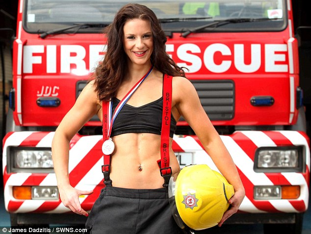 First Female Firefighter Heats Up FDNY Calendar