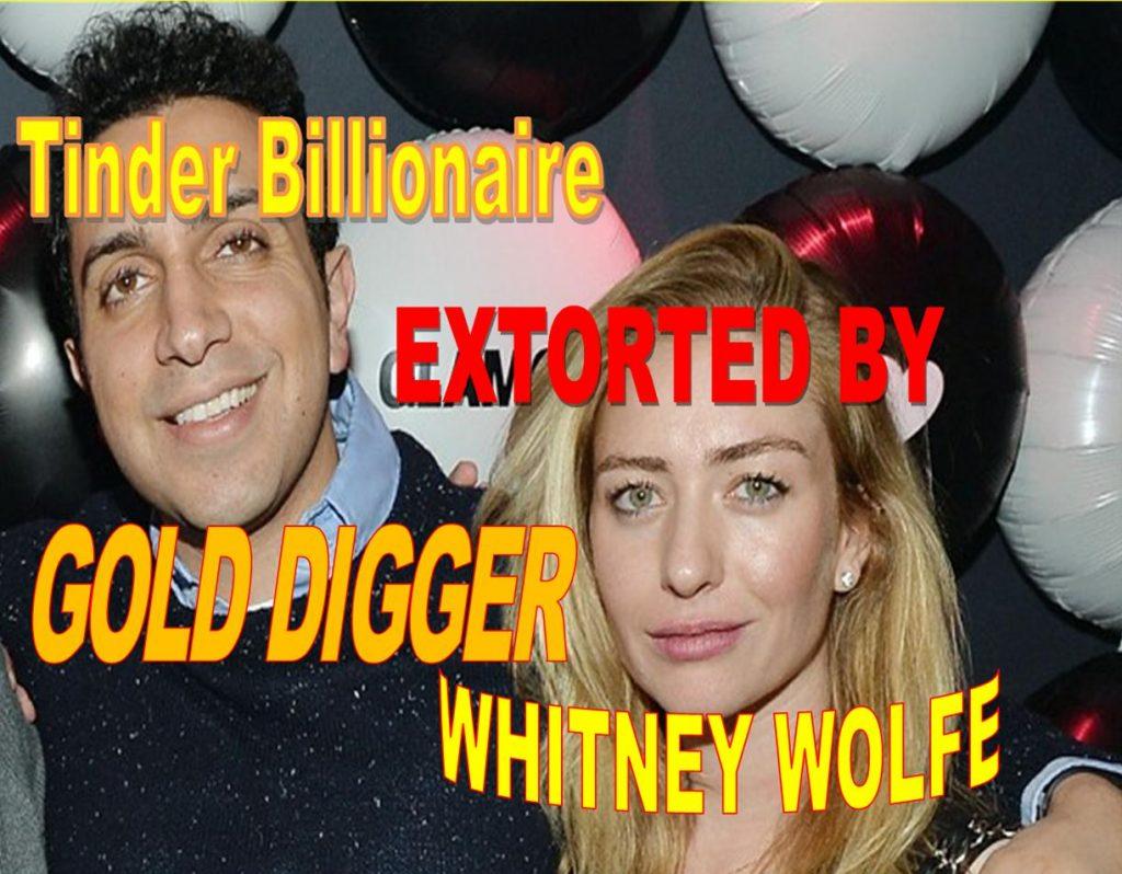 WHITNEY WOLFE, TINDER EXTORTIONIST, DEFRAUDED TINDER FOUNDER