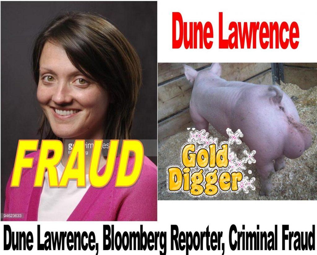 DUNE LAWRENCE, BLOOMBERG REPORTER