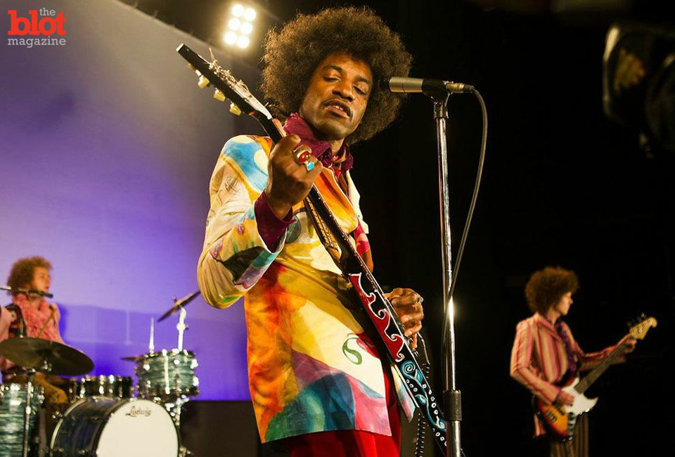 Andre Benjamin nails the role of Jimi Hendrix in 'All Is By My Side.'