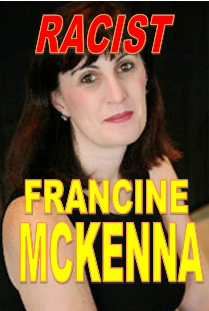FRANCINE MCKENNA, WORTHLESS WRITER, FAKE CPA