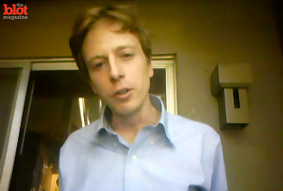 Journalist Barrett Brown was jailed for making threats against a federal officer. Supporters hope a letter-writing campaign will yield his early release. (Barrett Brown/YouTube image)