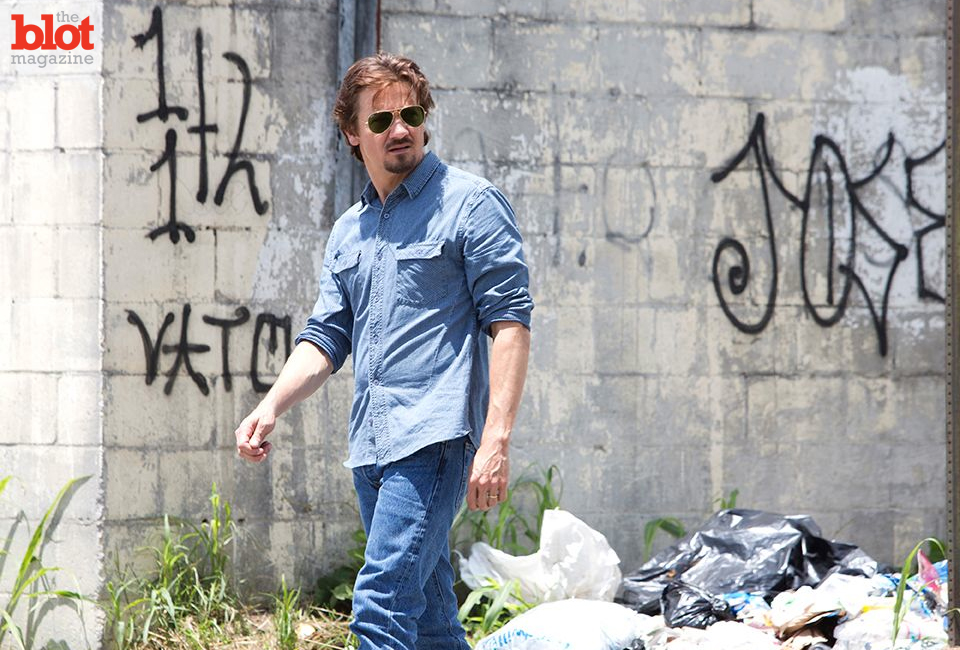 """In """"Kill the Messenger,"""" Jeremy Renner is Gary Webb, a real-life investigative journalist who uncovered the CIA's role in the '80s crack cocaine epidemic. (Chuck Zlotnick/Focus Features photo)"""