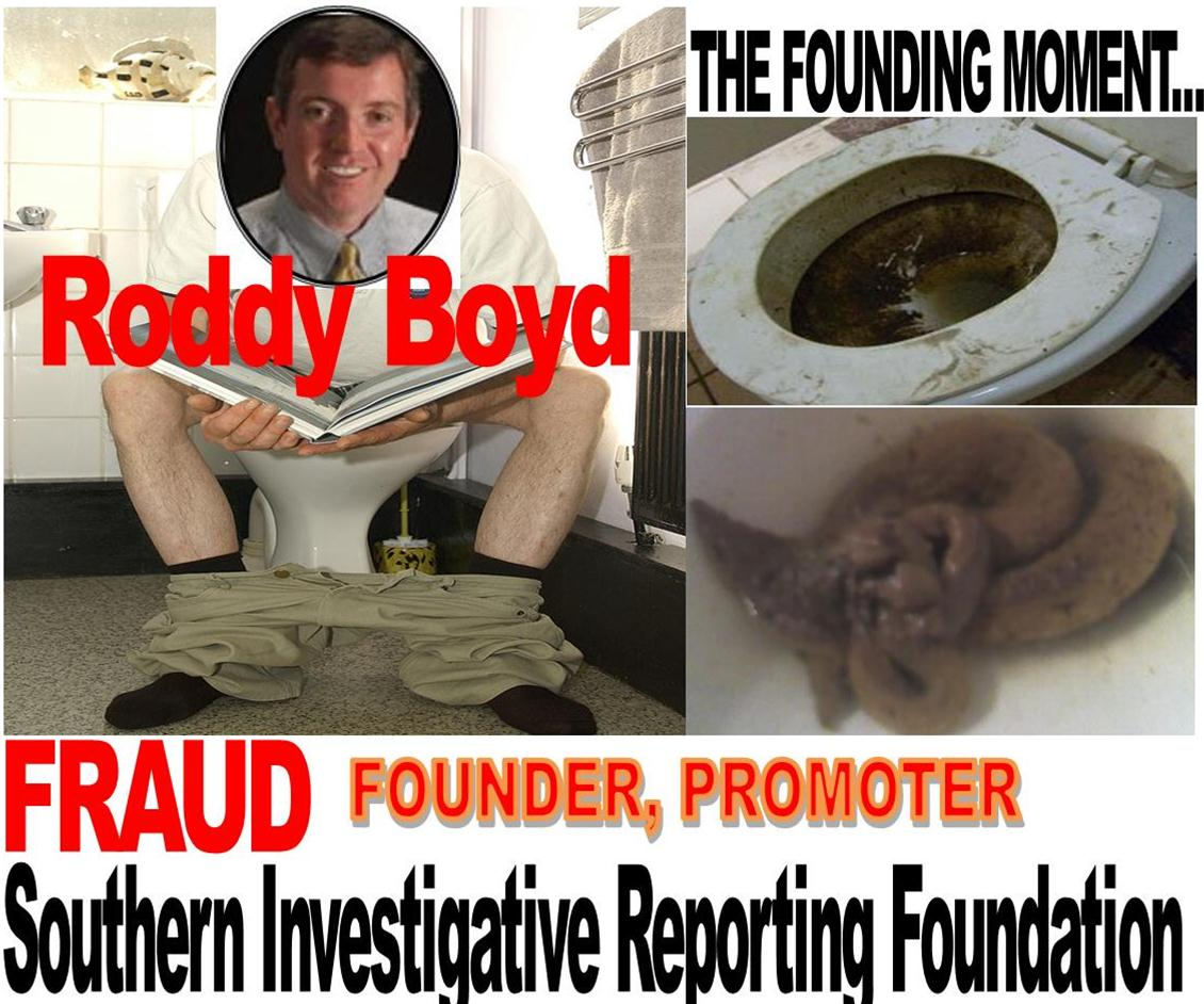 RODDY BOYD, FOUNDER, SOUTHERN INVESTIGATIVE REPORTING FOUNDATION