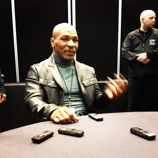 Mike Tyson is ready to knock you out — from laughing — with his new Adult Swim show, 'Mike Tyson Mysteries.' (Photo by Nikki M. Mascali)