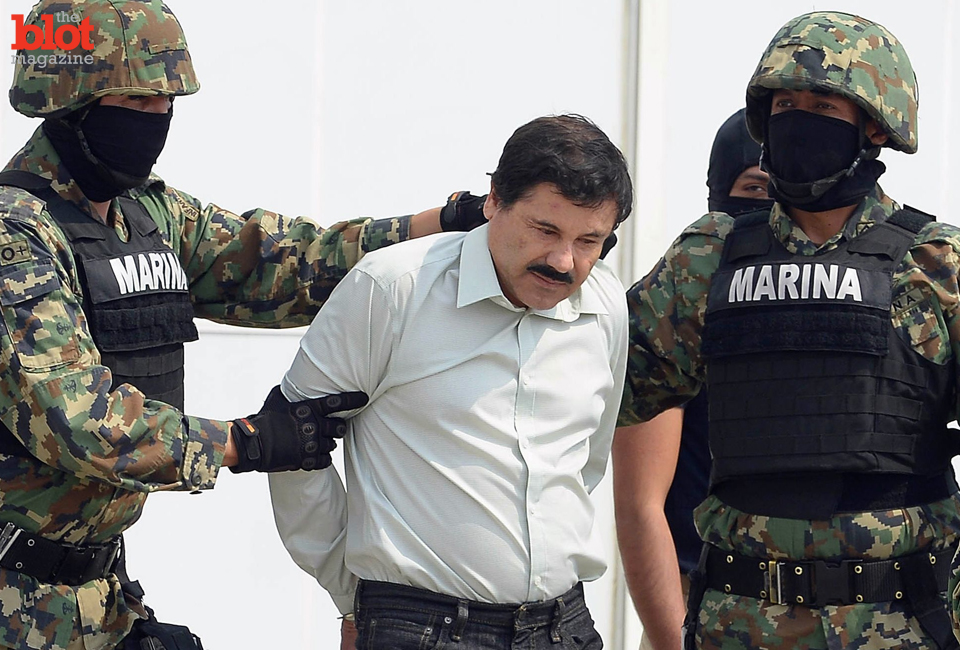 Mexican drug kingpin Joaquin 'El Chapo' Guzman was arrested Feb. 22 after 13 years on the lam. (usnews.com image)