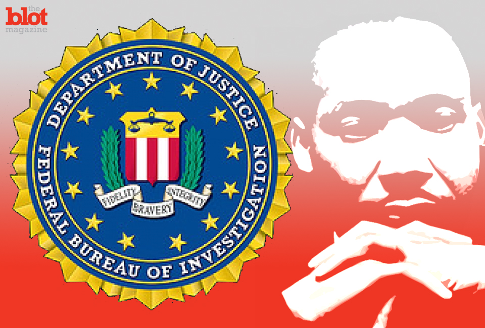 """A 1964 letter sent to Martin Luther King by the FBI reminds us what an unchecked government can do with its power in the name of """"homeland security."""""""