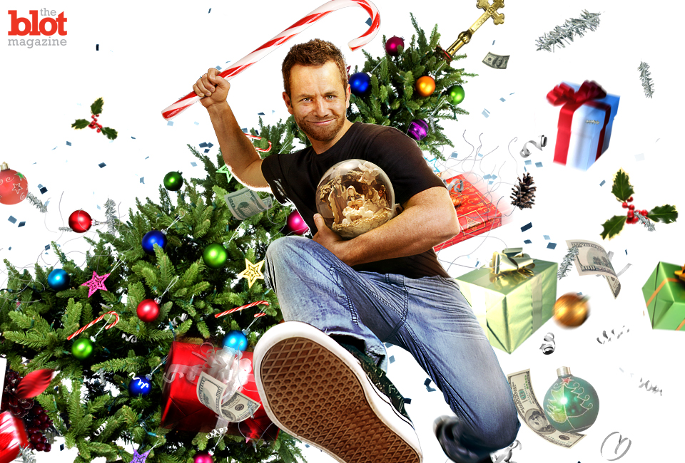 "Thank heavens we have ""Kirk Cameron's Saving Christmas"" to remind us what the season's all about: Rightfully lambasting 'Kirk Cameron's Saving Christmas.'"