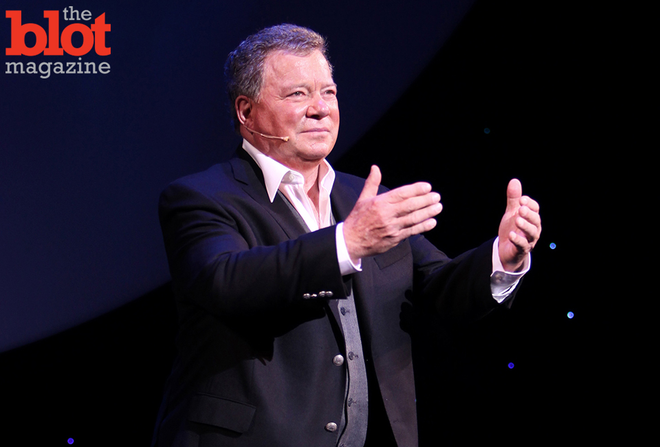 "William Shatner has taken to Kickstarter for his new book ""Catch Me Up,"" which offers advice for reinvention and survival after 50 in today's digital world. (© Walter McBride/Corbis image)"