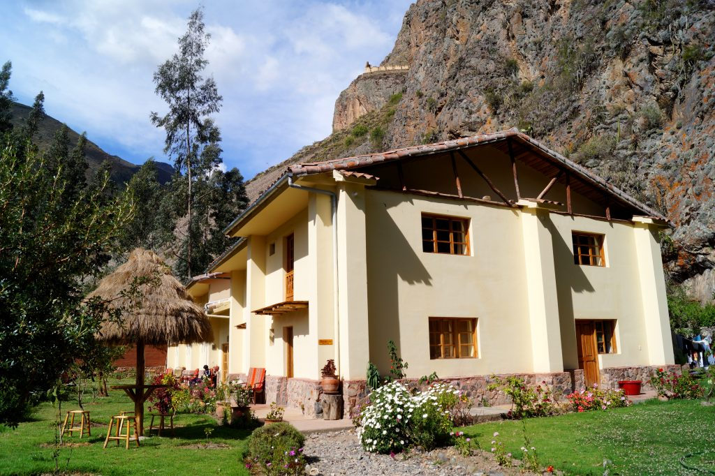 Apu Lodge in Ollantaytambo, Peru. (photo by Kirsten Koza)
