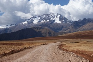 The drive from Cusco to Ollantaytambo. (photo by Kirsten Koza)