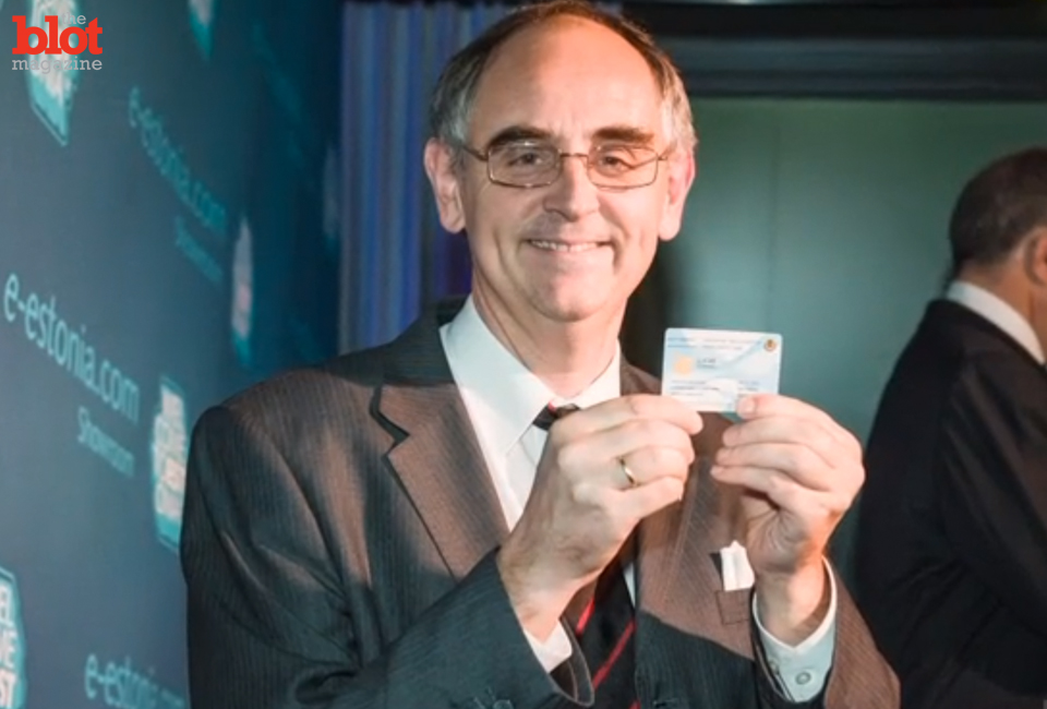 We chat with Edward Lucas of The Economist, above, who received the first e-residency card from Estonia. The card gives digital residency, not citizenship or legal residency.