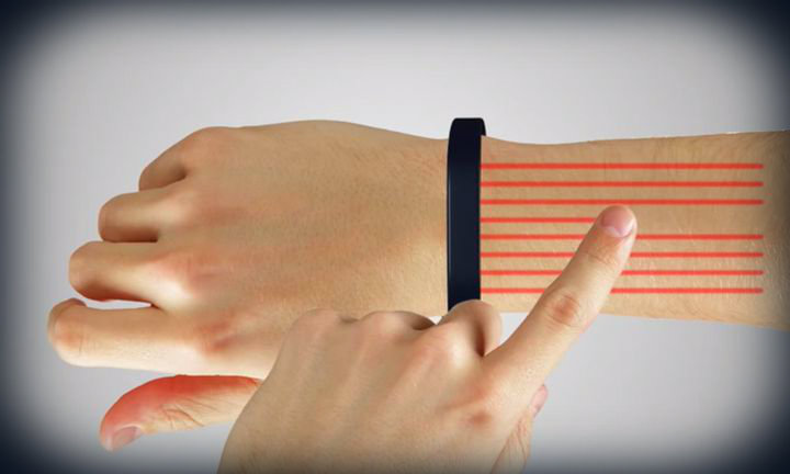 Cicret Bracelet Wants to Make Your Skin Your Touchscreen