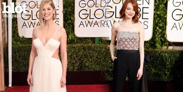 The 2015 awards season kicked off with Sunday's Golden Globes, and our Gazelle Paulo names his picks for the red carpet's best and worst dressed.