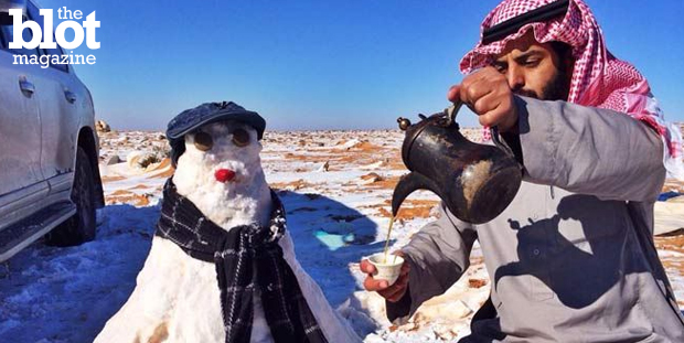 Sheikh Mohammed Saleh al-Munajjid has issued a fatwa, or religious ruling, that says building snowmen is anti-Islam. The jokes almost write themselves, no? (onislam.net photo)