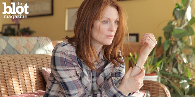 """Julianne Moore shines a powerful light on Alzheimer's in """"Still Alice."""" Dorri Olds spoke to Moore and onscreen daughters Kristen Stewart and Kate Bosworth. (Sony Picture Classics photo)"""