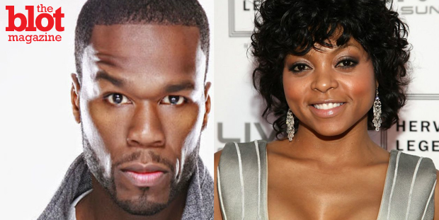 50 Cent has beef with Taraji P. Henson and Terrence Howard over their new Fox series 'Empire,' which he thinks hits too close to his Starz show 'Power.' He should chill because 'Empire' wasn't that good. (fameolous.com photo)