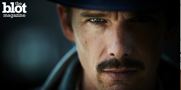 """Predestination"" is a captivating sci-fi mind-bender directed by the Spierig Brothers that stars Ethan Hawke and scene-stealing newbie Sarah Snook. (Sony Pictures photo)"