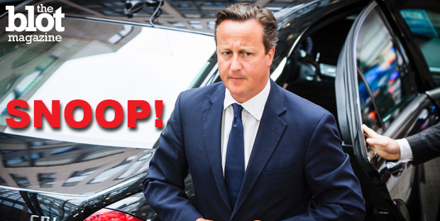 British PM David Cameron Wants More Snooping