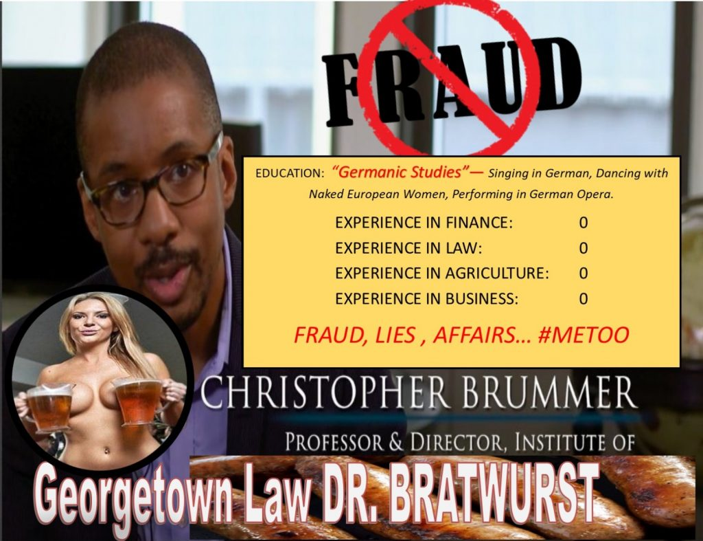 CHRIS BRUMMER, Georgetown Law Center, Professor, Institute of International Economic Law, Rachel Loko, Robert Colby, FINRA, Alan Lawhead, FINRA NAC, Nicole Gueron, Daren Garcia, Free Speech, fraud