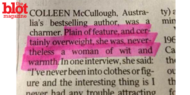 As we recently saw in author Colleen McCullough's awful obit, sexism is alive and well — but so are the binder women who rally on social media against it.