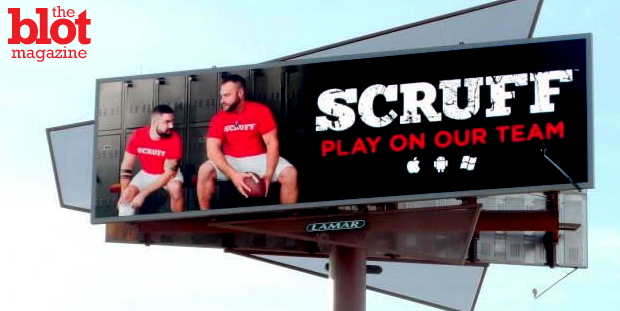 Gay dating app Scruff won big from its billboards outside the Super Bowl stadium, seeing a 20 percent increase in new profiles in the Phoenix area.