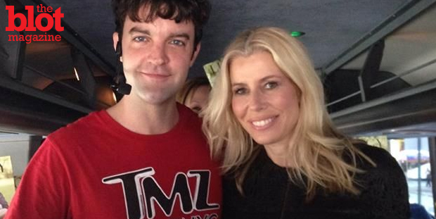 In part two of this three-part series, guide Ricky Dunlop namechecks some of the stars, like 'Real Housewives' star Aviva Dresher, above, who've hopped on TMZ's big red tour bus in New York City.