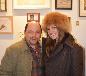 Jason Alexander of 'Seinfeld' poses with Fancy Alexandersson. (It's Fancy Events photo)