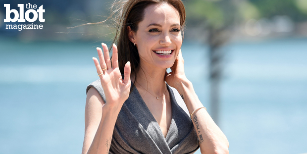 With her op-ed about having her ovaries and fallopian tubes removed, Angelina Jolie Pitt hopes to educate at-risk women about cancer-prevention options. (© DAN HIMBRECHTS/epa/Corbis photo)