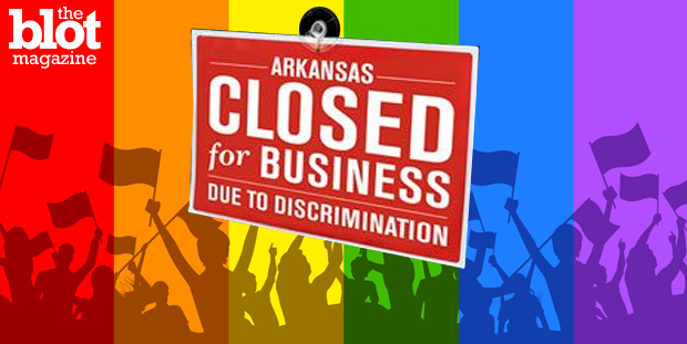 Arkansas Gov. Asa Hutchinson declines to sign the state's 'religious freedom' bill, which could've made Arkansas perhaps the most anti-gay state in America.